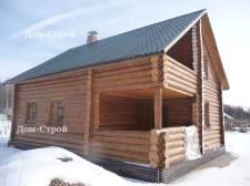 дом из бревна ручной рубки