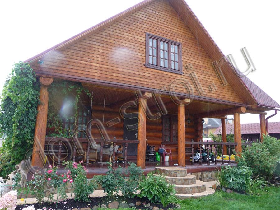 Строительство дач, дома из дерева. Строительство домов под ключ