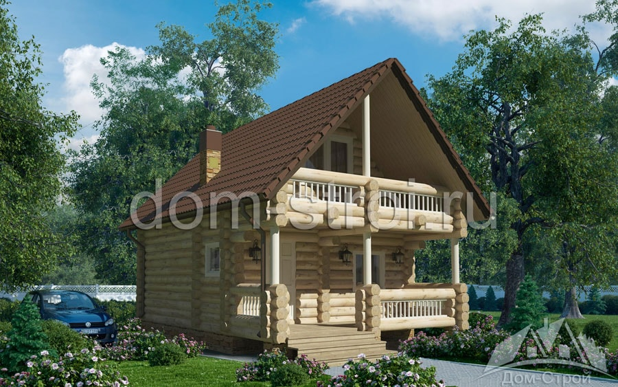Деревянные дома из бревна Купить дом, коттедж из