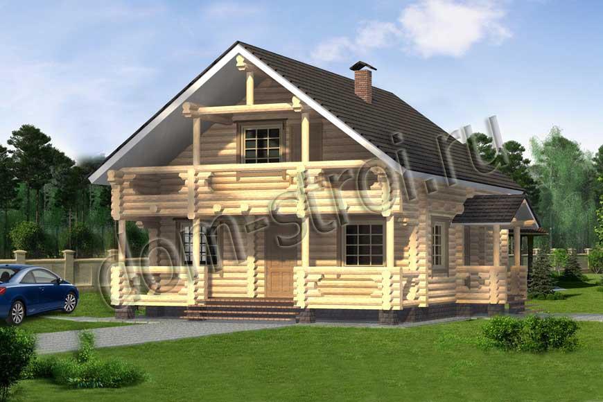 Проекты домов и коттеджей из пенобетона, дома из пеноблоков