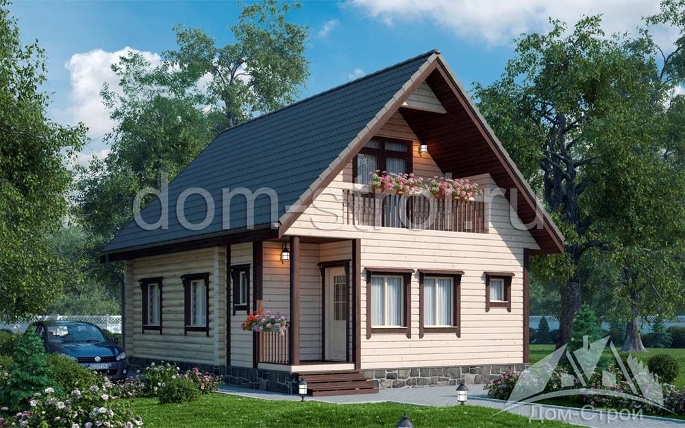 домов из сруба фото