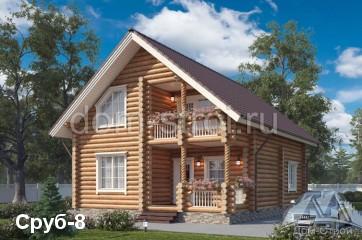 Изображение - Дома из оцилиндрованного бревна в кредит Srub8kartink.9e34b09fad6cbdb33b9b4b53d8e1ecc6