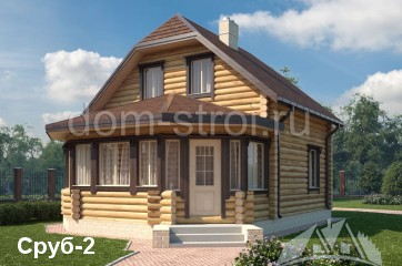 Изображение - Дома из оцилиндрованного бревна в кредит srub2.e3f6595417ff6d7719461fdb90284437