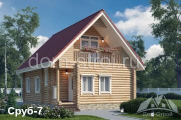 Изображение - Дома из оцилиндрованного бревна в кредит srub7m1.7e815be1b53755cb8d02b75a5e165b0a